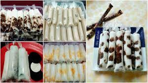 cara membuat es lilin manis resep es lilin malaysia percobaan pertama langsung untung cocok