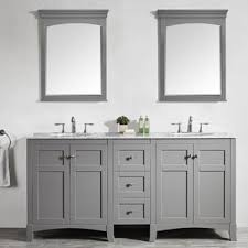Dual Vanity Sink Double Vanities You U0027ll Love Wayfair