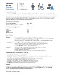 sample entry level medical resume 6 examples in word pdf