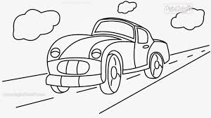 cartoon drawing of a car how to draw a cartoon car stepstep