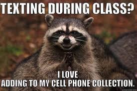 Meme Cell Phone - evil plotting raccoon memes quickmeme
