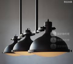 industrial style ceiling lights loft vintage retro american industrial style 3 heads pendant lights