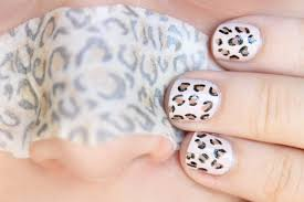 Nail Designs Cheetah Easy Cheetah Print Nail Tutorial Slashed
