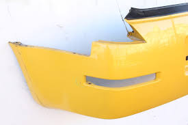 nissan 350z yellow color nissan 350z coupe 03 09 rear bumper face cover yellow hem22