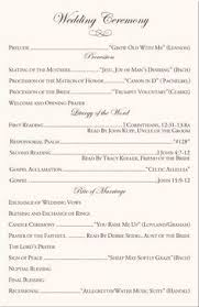 christian wedding programs best 25 wedding program exles ideas on wedding