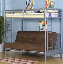 Bunk Beds  Bunk Bed Futon Combo Full Over Futon Bunk Bed Wood - Metal bunk bed futon combo