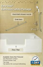 cost to convert bathtub to shower easy step bathroom safety package jpg
