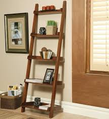 image of art amp crafts leaning bookshelf chocolate value city