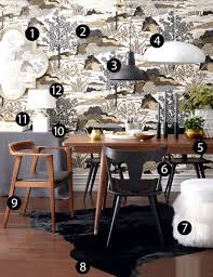 high low scandi chic dining room style at home