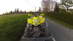 moto quad tour ambillou youtube