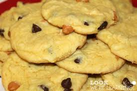 butterscotch chocolate chip cake mix cookie recipe