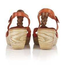 lotus parmaggiano 20119 women u0027s orange sandals free delivery at