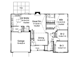 traditional style house plan 3 beds 2 00 baths 1740 sq ft plan