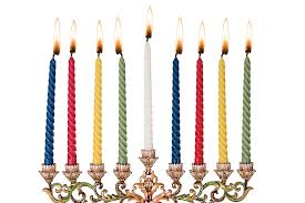 hanukkah candles colors 7 3 4 multi color hanukkah candles 44 candles per box