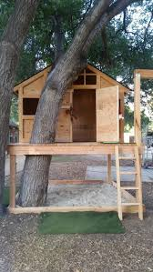awesome treehouse playhouse by http www danaz home decorations