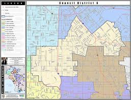 los angeles map pdf district map los angeles city council district 6