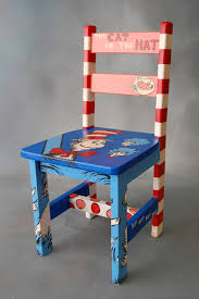 Child Rocking Chair Dr Seuss Child U0027s Rocking Chair By Halliesheart On Etsy 125 00