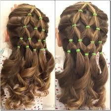 hairstyles with one elastic 7 great christmas tree hairstyles hair by lori