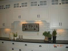 faux brick backsplash in kitchen transform this faux brick paneling by painting it for kitchen back