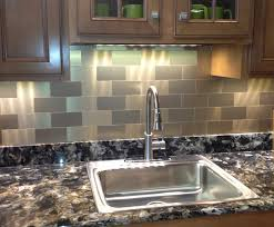 kitchens with stainless steel backsplash stainless steel back splash yea or nay matt and shari