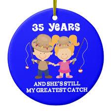 35 hochzeitstag geschenk 35 hochzeitstag lustiges geschenk für ihn keramik ornament zazzle