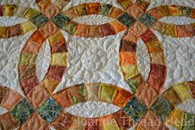 wedding ring quilt thread wedding ring quilt