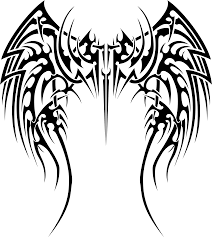 clipart tribal wings
