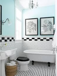 luxury bathroom interior design ideas with retro tile