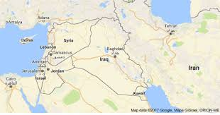 baghdad on a map car bomb kills 21 in town of baghdad