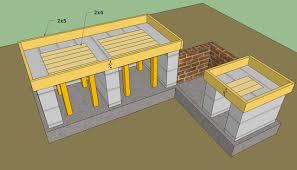 outdoor kitchen design plans outdoor kitchen plans free