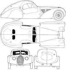 bugatti drawing car blueprints bugatti type 57sc atlantic blueprints vector