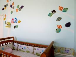 wall mural sweetsourmoments baby nursery wall after