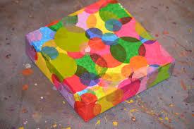 tissue paper christmas craft ye craft ideas