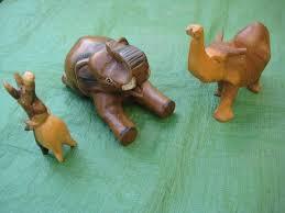 three carved wooden elephant ornaments in lewisham gumtree