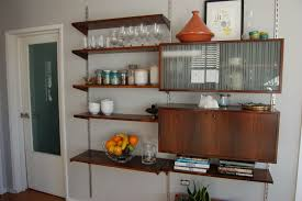 kitchen furniture cheap kitchen wall shelving with prefab cupboards also open kitchen