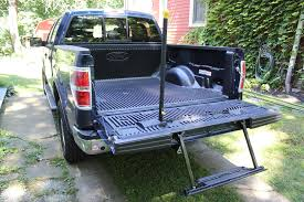 bed of truck 4 great truck accessories the loadhandler bed ladders extensions