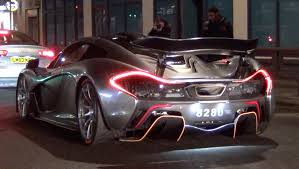 mclaren p1 concept chrome mclaren p1 race mode in the city youtube