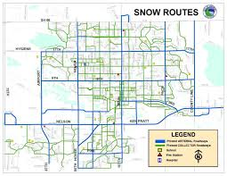 Map Of Colorado Cities by Snow Routes City Of Longmont Colorado