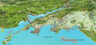 map of panama city large panama city maps for free and print high