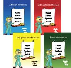 rapid recall system complete set math program for children with