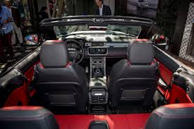 land rover evoque interior 2017 range rover evoque convertible price interior plus