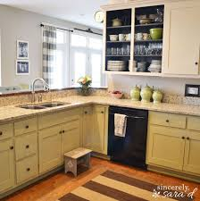 paint kitchen cabinets with chalk paint hometalk