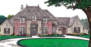 Cottage House Plans With Porte Cochere by House Plan 66213 At Familyhomeplans Com