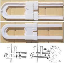Child Safety Locks For Kitchen Cabinets 100pcs Lot Child Safety Products Baby Safety Lock Split Cabinet