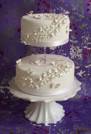tiered wedding cakes small two tier wedding cakes two tier wedding cake by pink