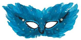 feather mask feather mask party supplies
