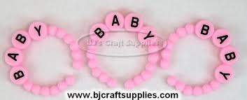 Baby Shower Bracelets - baby shower decorations