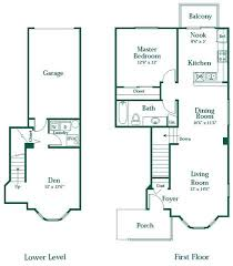 3 Bedroom Apartments Floor Plans 1 2 Or 3 Bedroom Apartments In Novi Brownstones