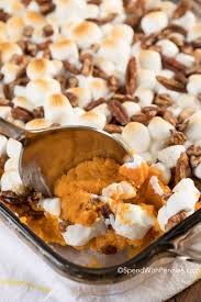 sweet potato casserole spend with pennies