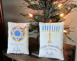 Jewish Decorations Home Hanukkah Decoration Etsy